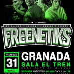 CARTEL FREENETIKS GRANADA